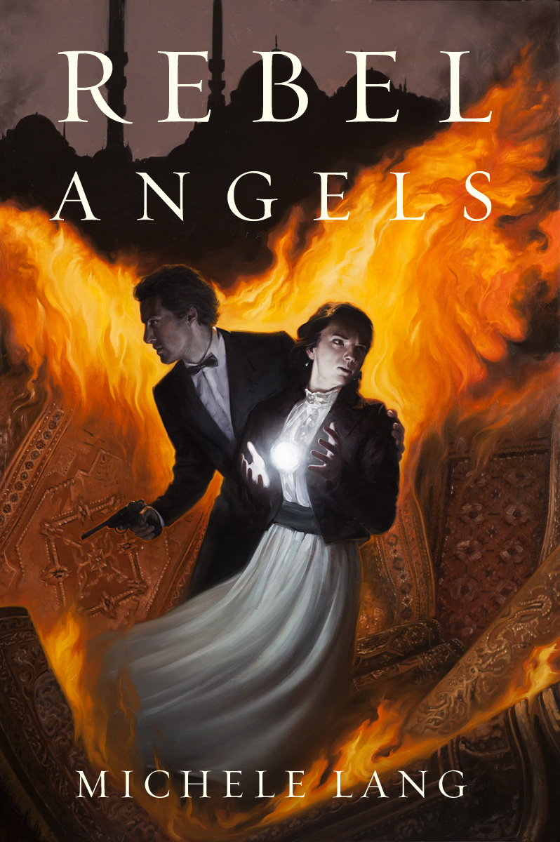 Rebel Angels, the third book in the LADY LAZARUS trilogy