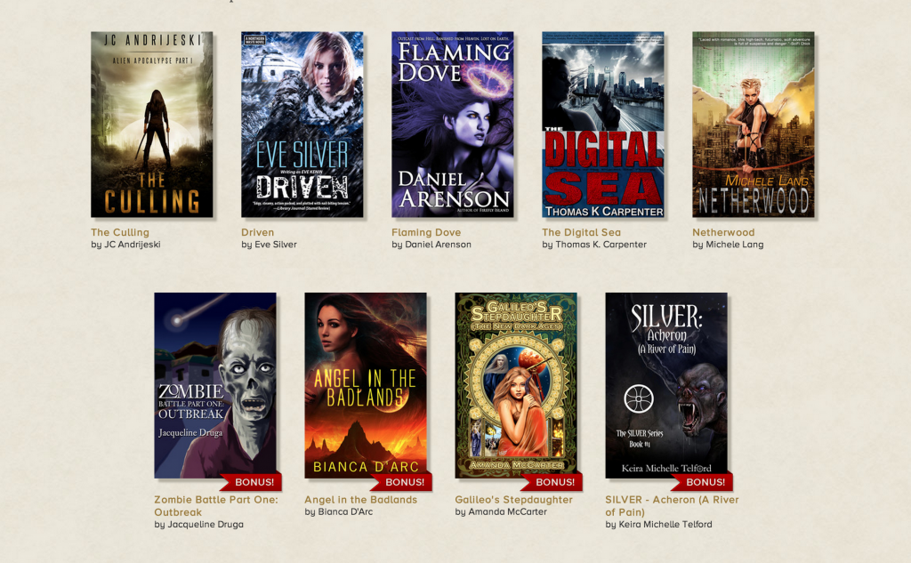 Apocalyptic Adventure Novels in Storybundle!