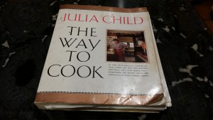 My well-worn cooking Bible...